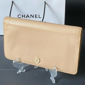 AUTHENTIC CHANEL WALLET COCO BUTTON